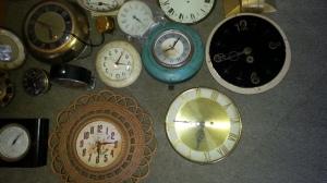 Clock Parts Lot 9
