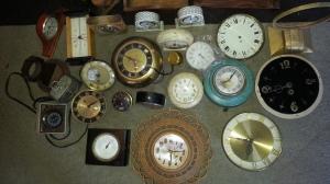 Clock Parts Lot 12