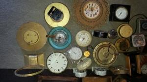 Clock Parts Lot 3