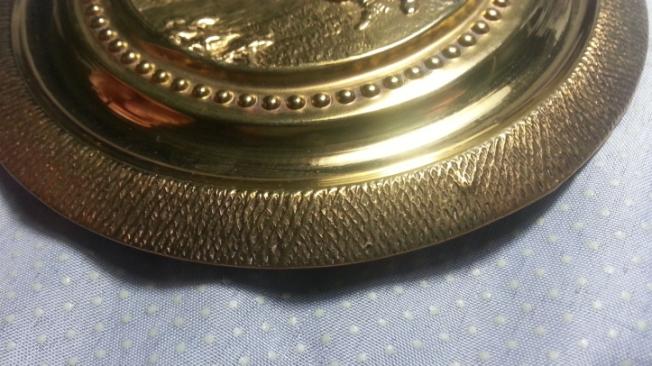 etched brass