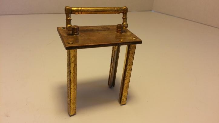 Waterbury Carriage Clock Brass Casing