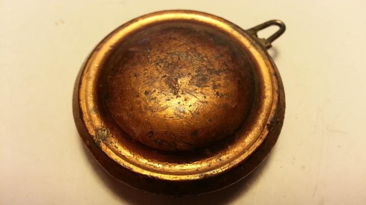 Solid Copper Mantel Clock Pendulum