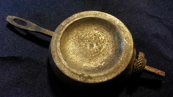 Antique Zinc Mantel Clock Pendulum