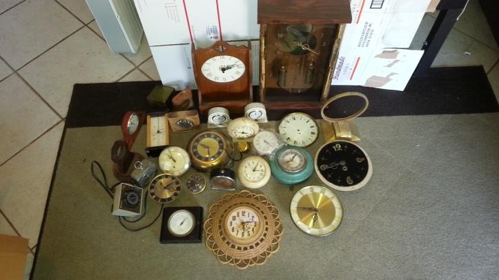 Steampunk Gears Clock Parts