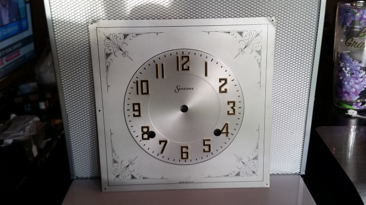 Sessions Clock Dial