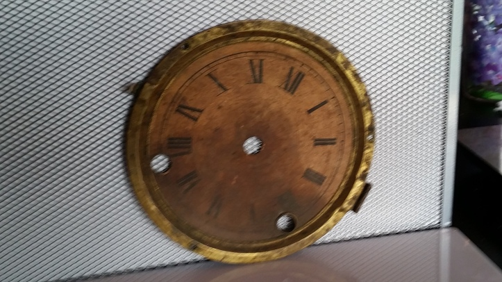 Mantle Clock Dial