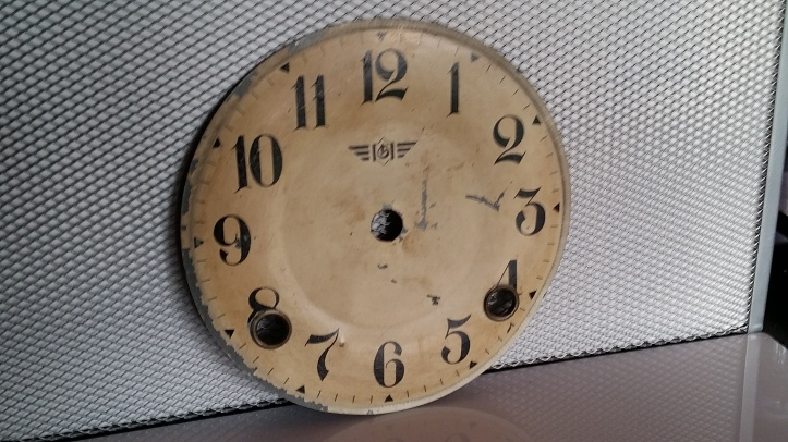 Antique clock dial