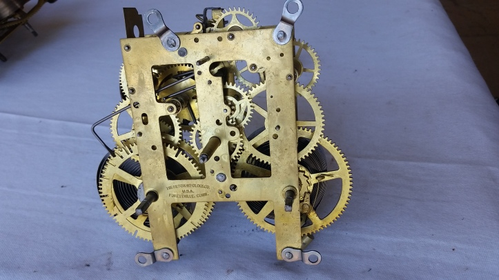 Antique Mantel Clock Movement