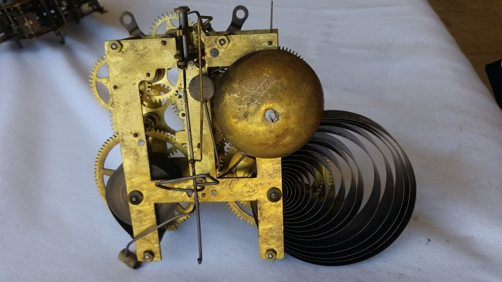 Sessions Mantel Clock Movement