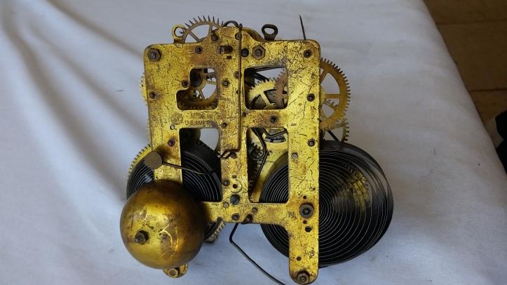 Seth Thomas Mantel Clock Movement