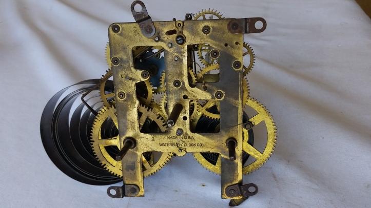 Waterbury Mantel Clock Movement