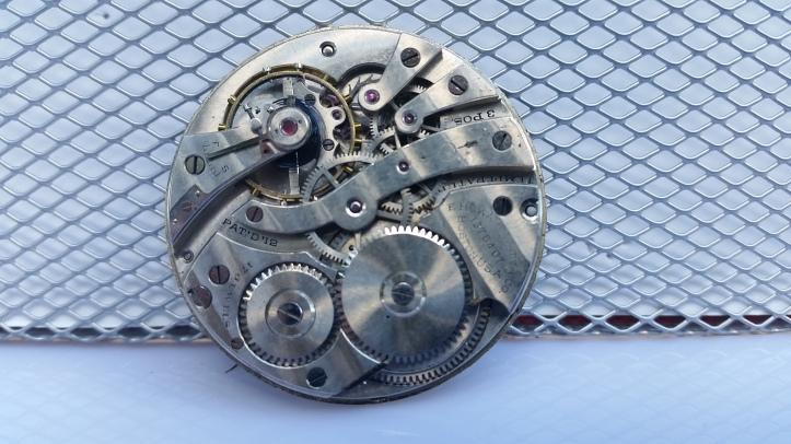 E Howard Pocket Watch Movement