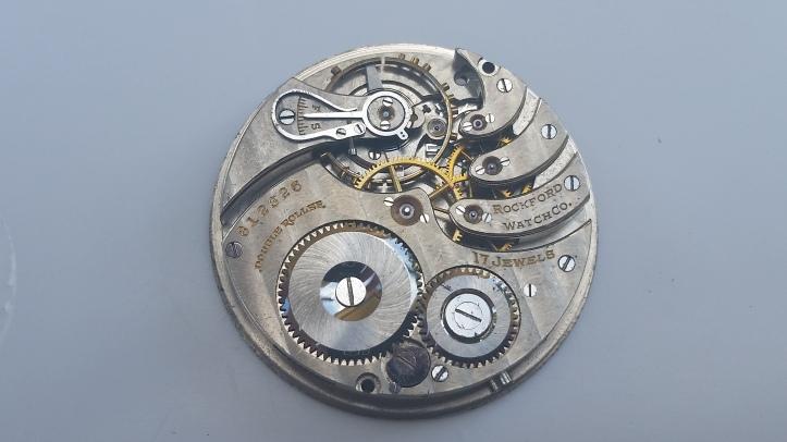 15j Pocket Watch Movement