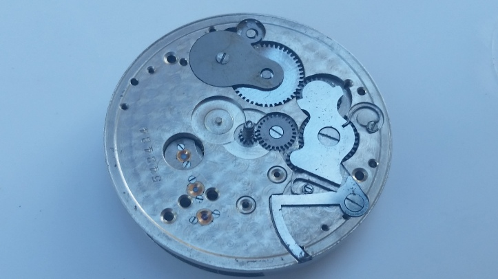 Rockford Pocket Watch Movement for parts
