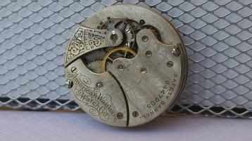 Waltham pocket watch movement 7 Jewel