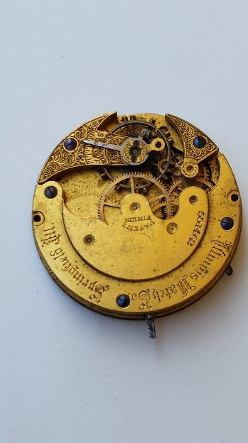 Illinois Pocket Watch Movement