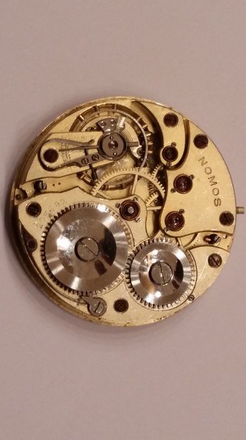 Nomos Glashutte Pocket Watch Movement