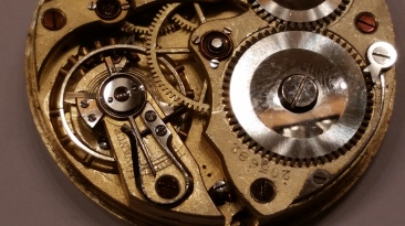 Nomos Glashutte Pocket Watch Jeweled center wheel