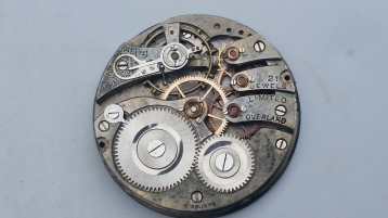 Overland 21 Jewels Pocket Watch Movement