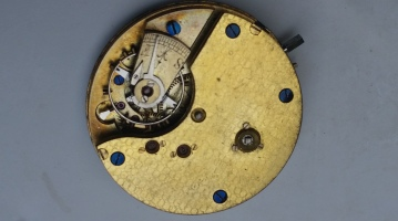 Unmarked Ticking Movement