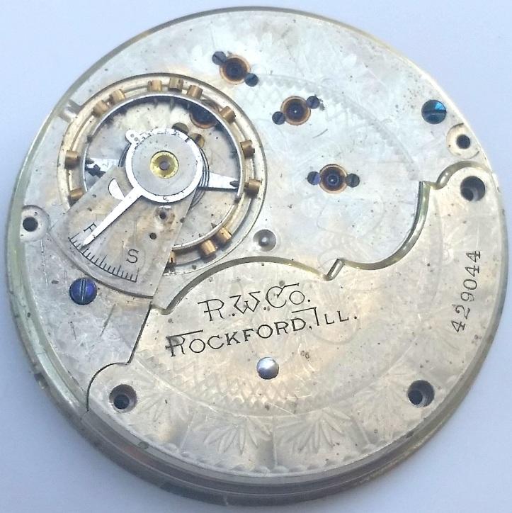 Rockford 15 Jewel Pocket Watch Movement