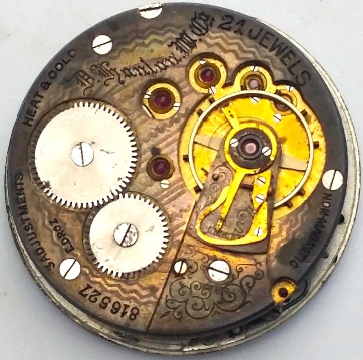 Swiss Fake 21 jewel pocket Watch