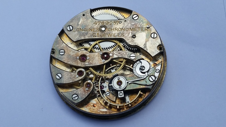 Longines Chronometer 21 Jewel Pocket Watch Movement