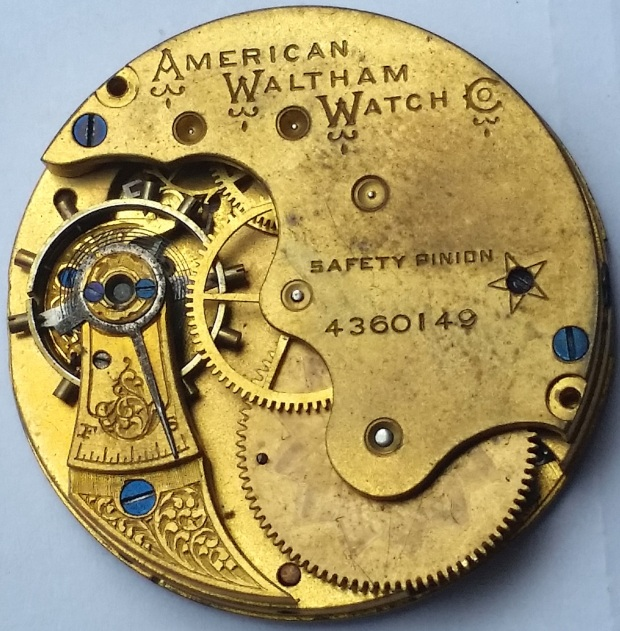 American Waltham Watch Co Pocket Watch Movement Spare