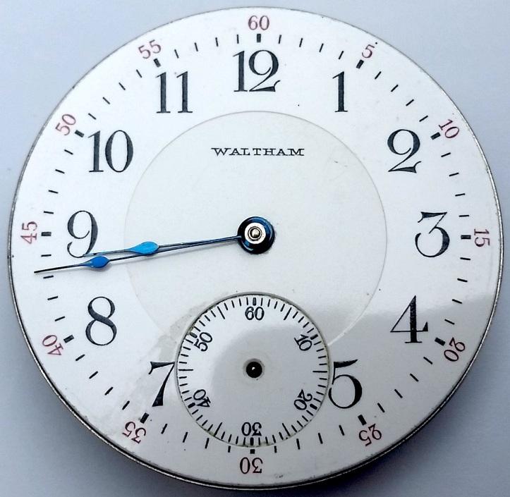 Waltham Porcelain Double Sunk Dial