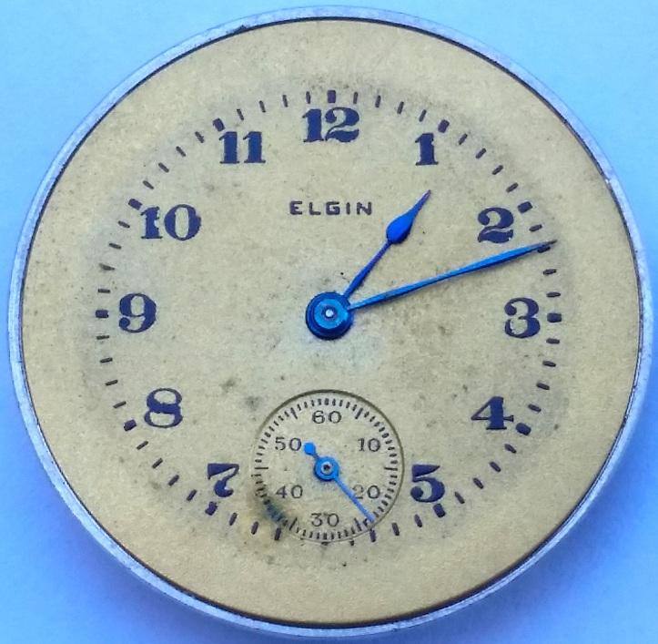 Lady Raymond Elgin Pocket Watch