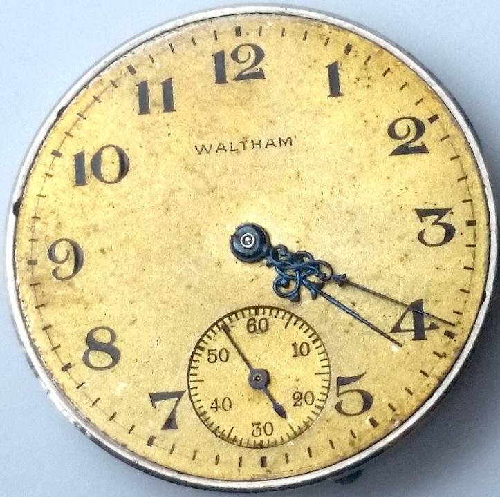 Waltham Ruby Pocket Watch Dial