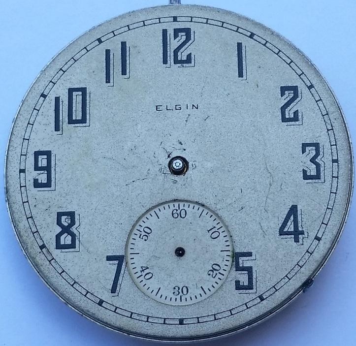 Elgin Railroad Grade 16s 15 jewel 1883 Dial