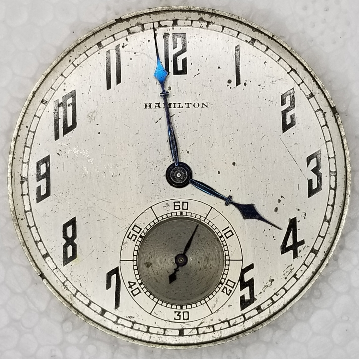 Hamilton Pocket Watch Dial