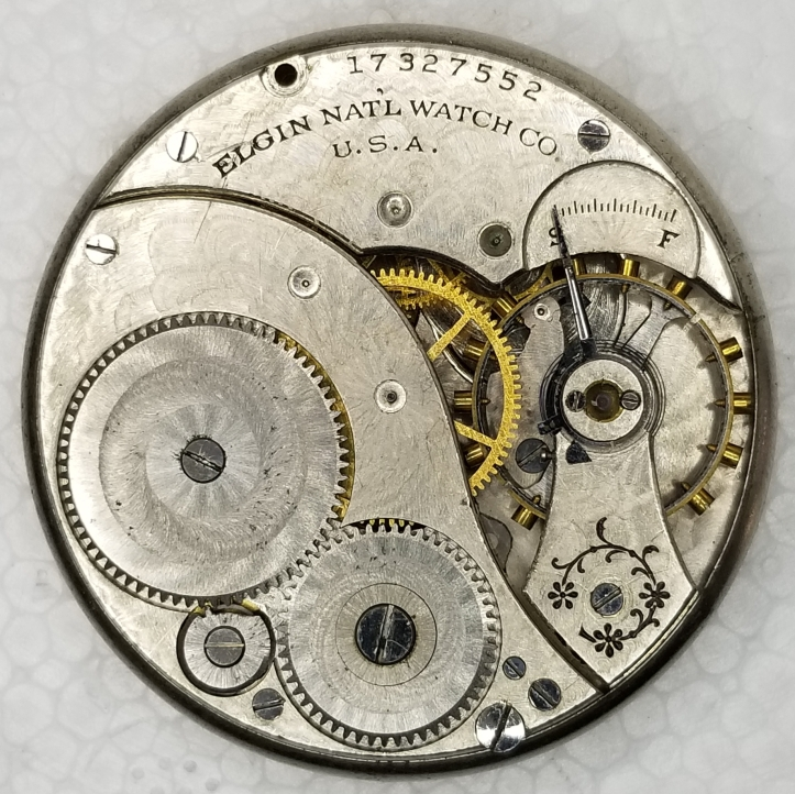 Elgin Grade 303 pocket watch movement