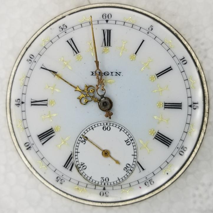 Elgin Pocket Watch Movement