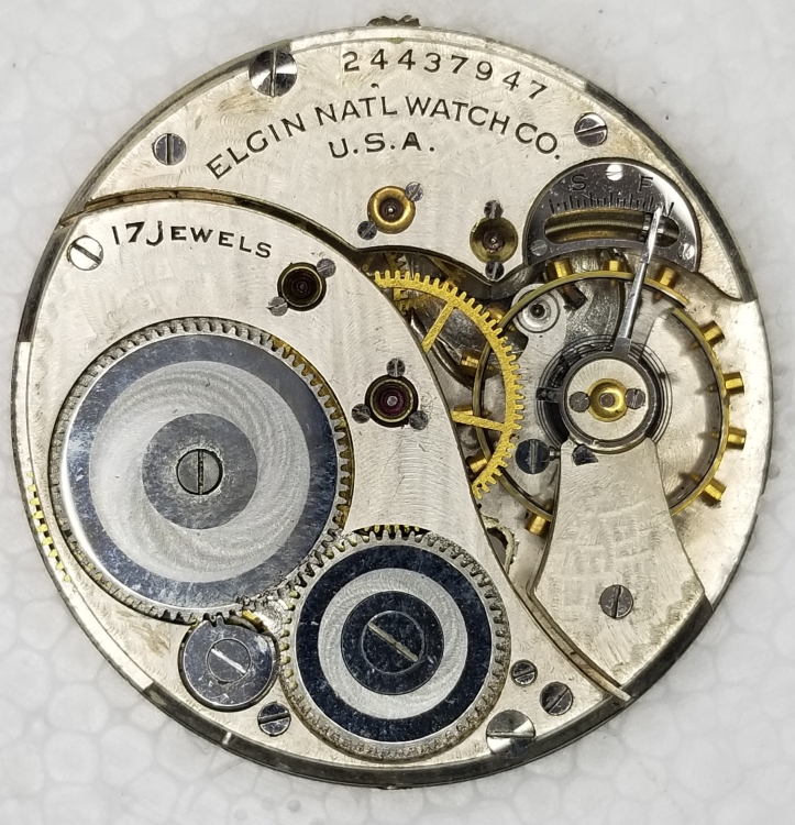 Grade 345 17 jewel size 12s movement