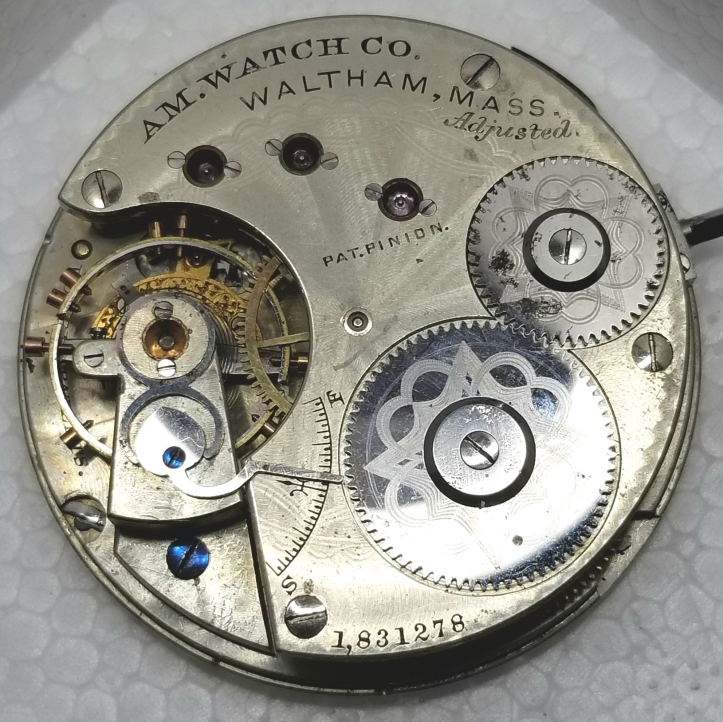 American Watch Co Grade Movement