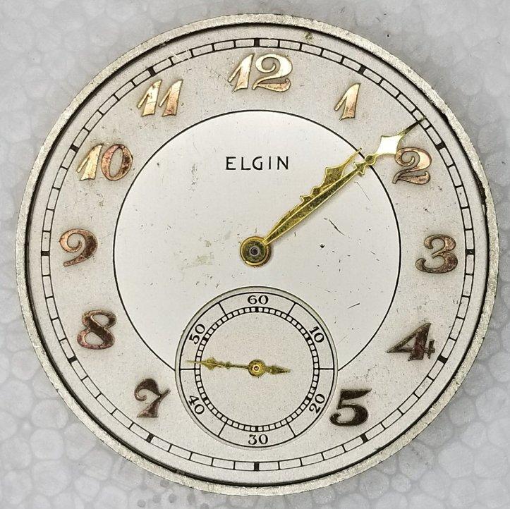 Elgin Grade 315 Pocket Watch Movement
