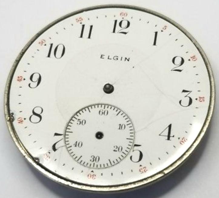 Elgin Antique Pocket Watch openface