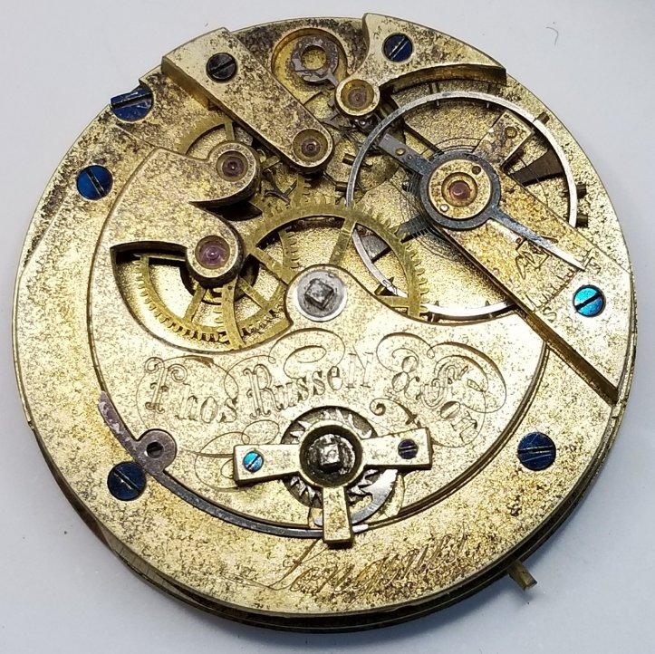 longines antique pocket watch movement