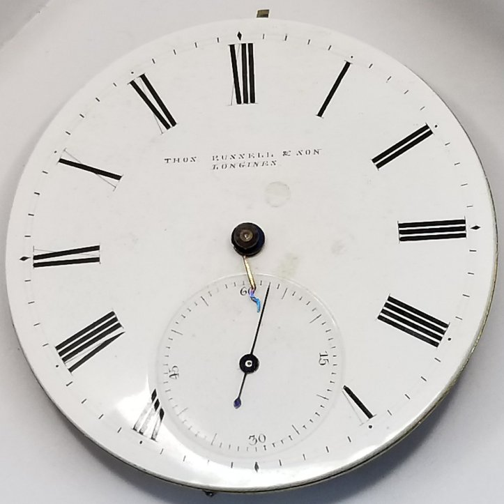 longines antique pocket watch dial