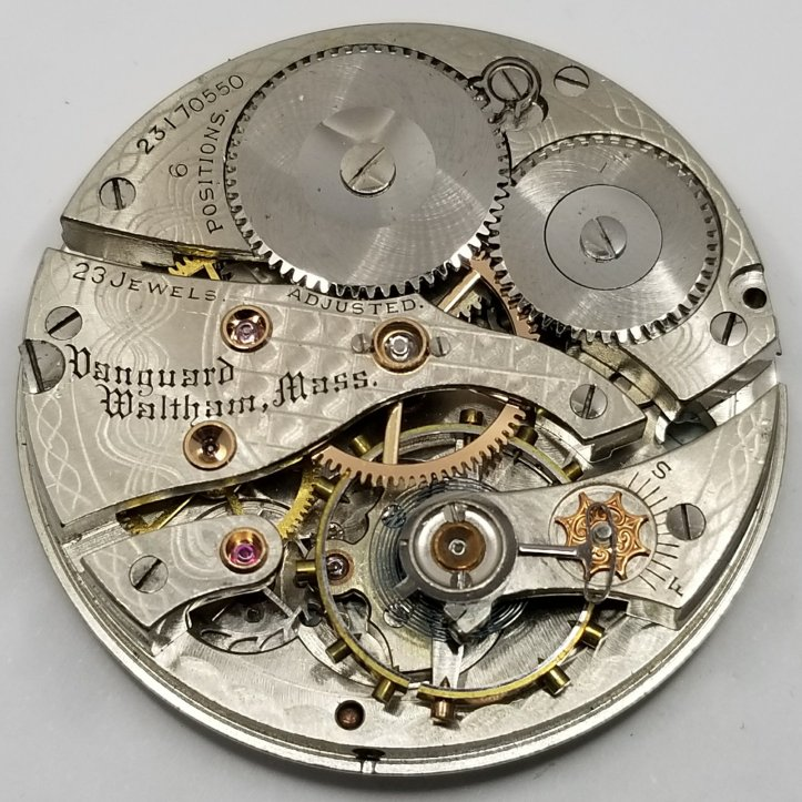 Waltham Vanguard 23 Jewel Movement