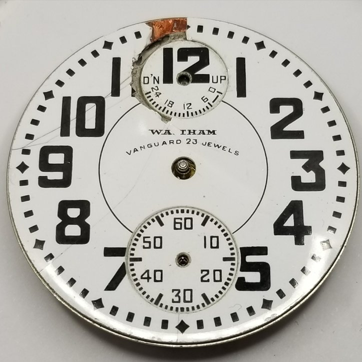 Waltham Vanguard Up Down Indicator Dial