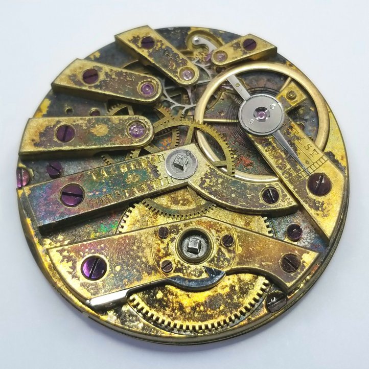 Vacheron and Constantin Pocket Watch Movement
