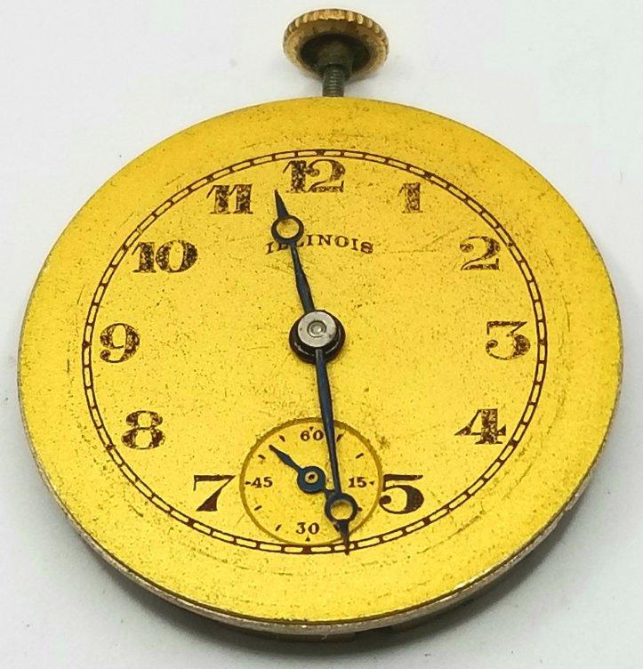 Illinois Pocket Watch Movement
