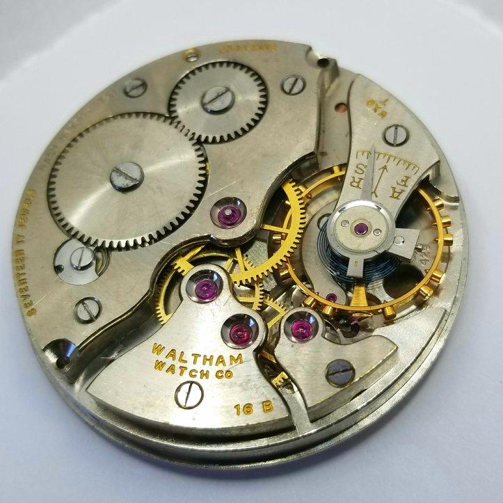 Waltham 16b Pocket Watch Movement