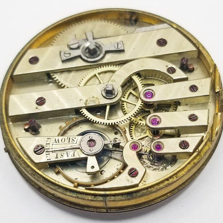Swiss Key Wind Pocket Watch Movement