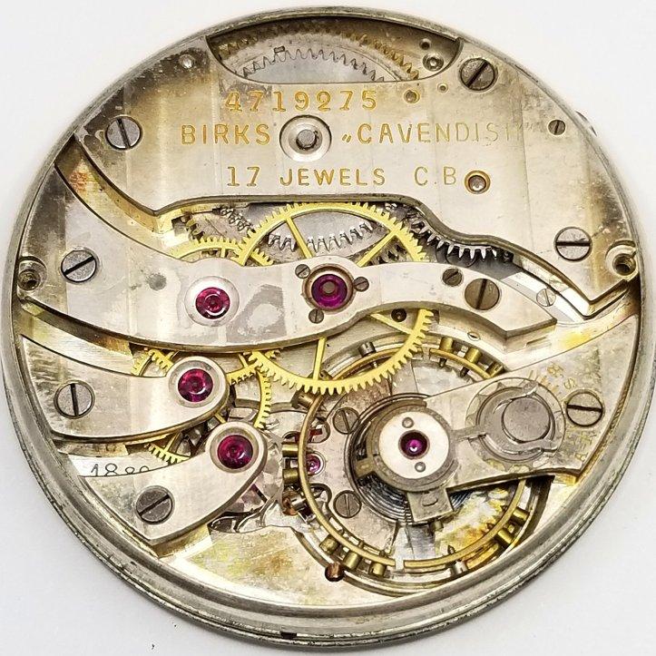 Longines Cal 18.89 Pocket Watch Movement 17 Jewels