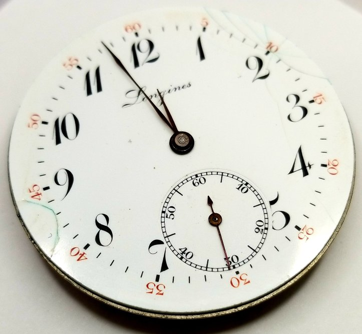 Longines Pocket Watch Movement