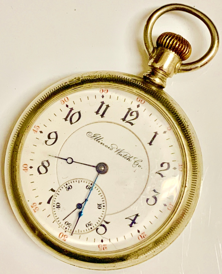 Illinois Getty Pocket Watch